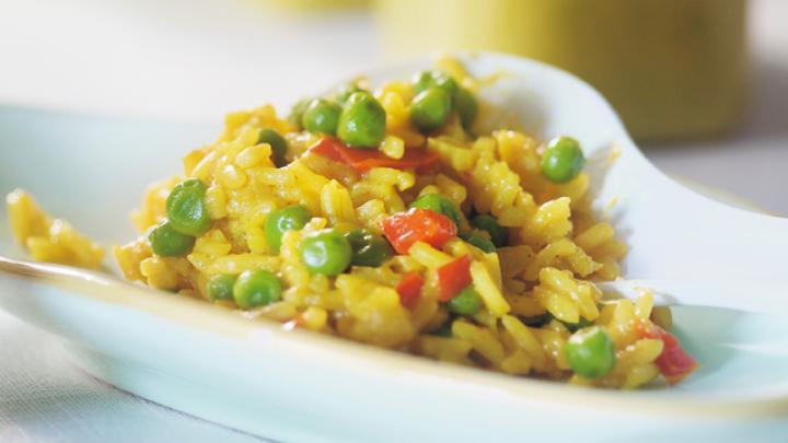Paella végétarienne proposée par OfficeMed - Centre Médical Georges-Favon